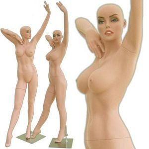 MN-314 Curvaceous Fierce and Sexy Female Mannequin (Dolly) with Free Wig - DisplayImporter