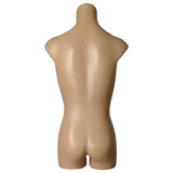MN-362BODY Child Plastic Preteen Armless Round Body Torso Mannequin (Sizes 10-12 Large)