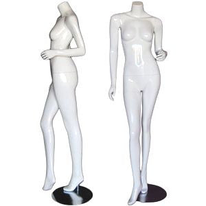 MN-371 Glossy Headless Female Mannequins  - DisplayImporter.com