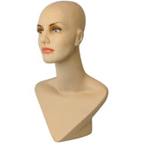 MN-414 Female Mannequin Head Form with V Neck