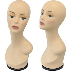 MN-436 Series Turntable Mannequin Heads