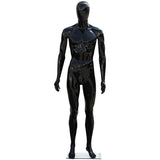 MN-439 Glossy Plastic Egghead Male Full Body Mannequin with Removable Head - DisplayImporter