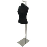 MN-448 Pinnable Female Dress Form with Hanging Wire Loop - DisplayImporter