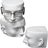 MN-510 Half Face Sunglasses/Eyeglasses Display Mannequin Head - DisplayImporter