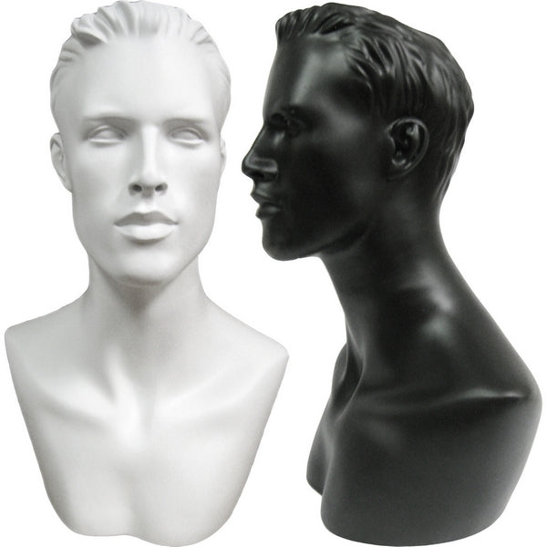 MN-513 Male Mannequin Head Form
