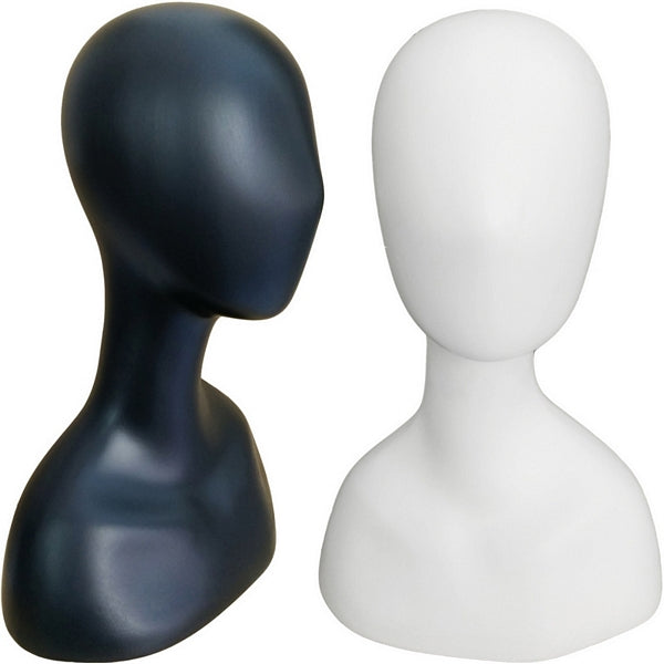 MN-517 Female Abstract Mannequin Head Form - DisplayImporter
