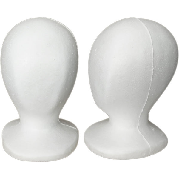 MN-519 Child/Pre-Teen Size Styrofoam Mannequin Head