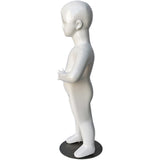 "MN-534 Glossy Abstract Standing Baby Toddler Mannequin 30.5"" - DisplayImporter"