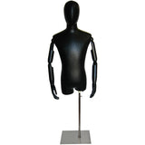 MN-603 Men's Egghead Dress Form with Articulate Arms - DisplayImporter