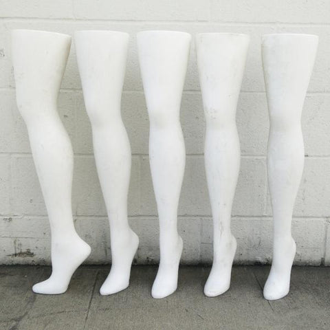 "MN-AA5 USED 28.75"" Freestanding Women's Hip High Hosiery Leg Display (FINAL SALE)"