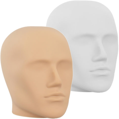 MN-E2 Plastic Male Abstract Head Attachment for Mannequins/Forms