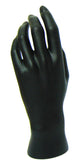 MN-HandsF Female Mannequin Hands Black Left - DisplayImporter.com - 3