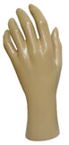 MN-HandsF-LTP Female Mannequin Hands (LESS THAN PERFECT, FINAL SALE) Fleshtone Left - DisplayImporter.com - 4