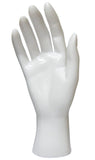 MN-HandsF Female Mannequin Hands White Right - DisplayImporter.com - 8