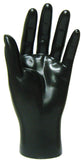 MN-HandsM Male Mannequin Hands Black Left - DisplayImporter.com - 3