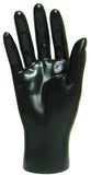 MN-HandsM Male Mannequin Hands Black Right - DisplayImporter.com - 4