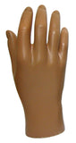 MN-HandsM Male Mannequin Hands Fleshtone Right - DisplayImporter.com - 6