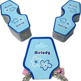 PG-018 100 pcs Melody Jewelry Hanging Tags - DisplayImporter
