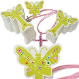 PG-020 100 pcs Butterfly Jewelry Hanging Tags  - DisplayImporter.com - 1