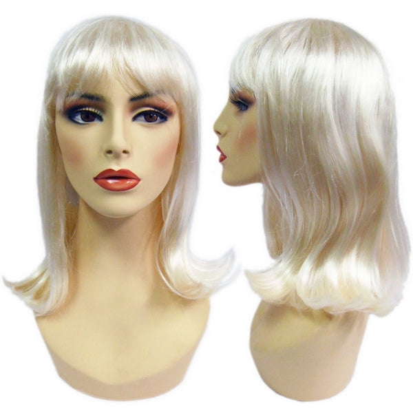 WG-046 Soft Look Blonde Alley Female Wig - DisplayImporter