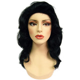 WG-049 Black Luscious Wavy Maria Female Wig - DisplayImporter