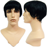 WG-051 Dark College Cut David Male Wig - DisplayImporter