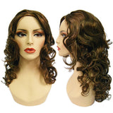 WG-052 Brunette Luscious Curly Stella Wig - DisplayImporter