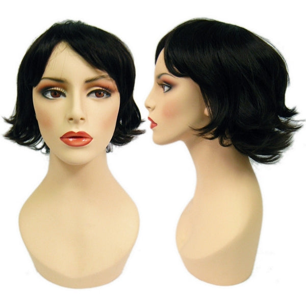 WG-056 Flipped Dark Joan Female Wig - DisplayImporter