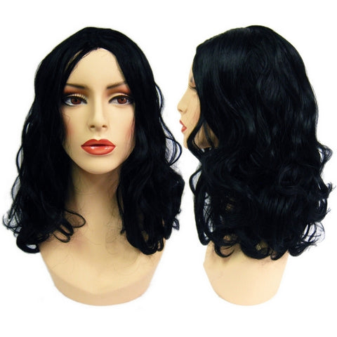 WG-058 Brunette Luscious Curly Gloria Female Wig - DisplayImporter