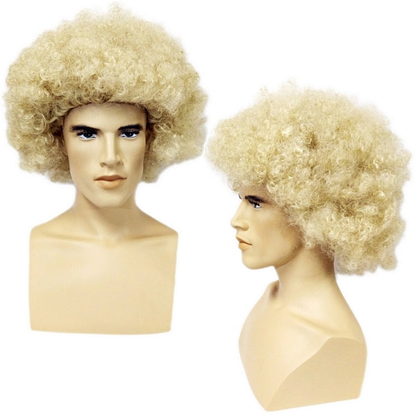 WG-060 Unisex Blond Afro Style Wig - DisplayImporter