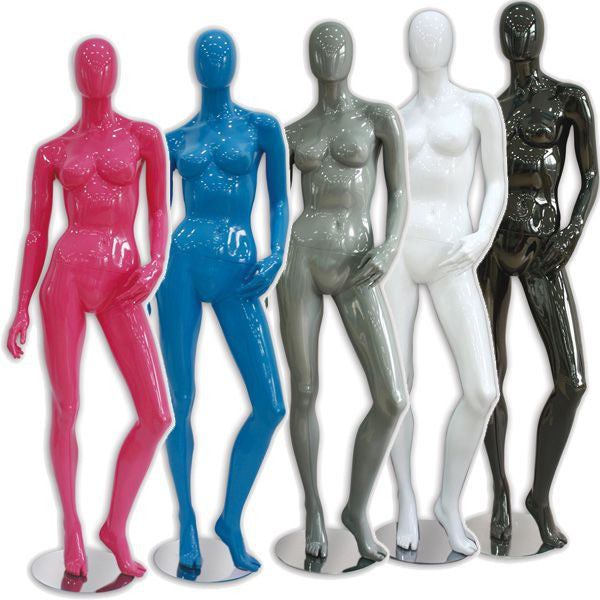 AF-016 Glossy Female Abstract Mannequin - Donna - DisplayImporter