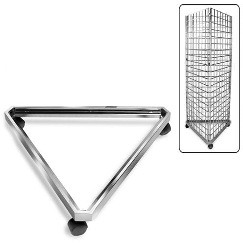 AF-029 3 Way Triangle Gridwall/Slatgrid Dolly Base - DisplayImporter
