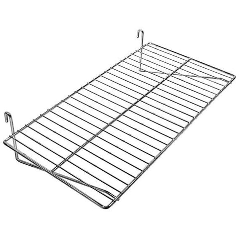 "AF-041 12"" x 24"" Gridwall Shelf - DisplayImporter"