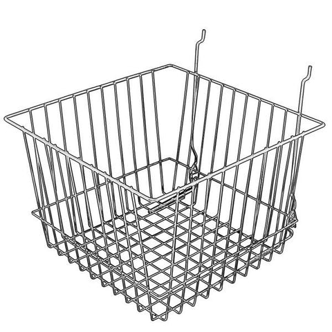 AF-046 Deep Gridwall/Slatwall Basket - DisplayImporter