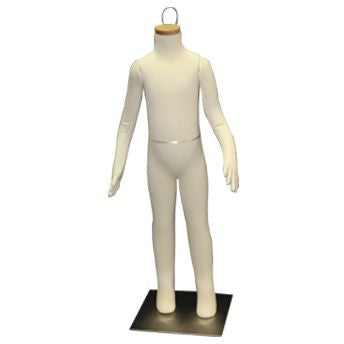 "AF-081 Headless 6 Year Old Unisex Flexible Kid Mannequin 38""  - DisplayImporter.com"