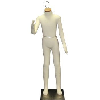 "AF-082 Headless 8 Year Old Unisex Flexible Kid Mannequin 42.5"" - DisplayImporter"