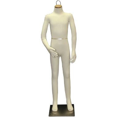 "AF-083 Headless 10 Year Old Unisex Flexible Kid Mannequin 48.5""  - DisplayImporter.com"