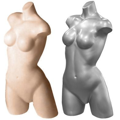 AF-099 Freestanding Female Athletic Mannequin Torso Form - DisplayImporter