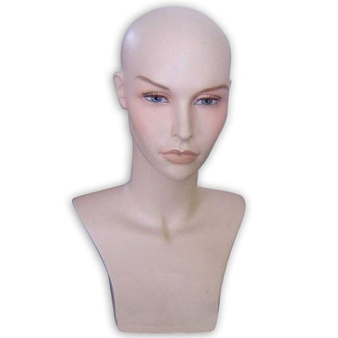 AF-104 Female Mannequin Head - DisplayImporter