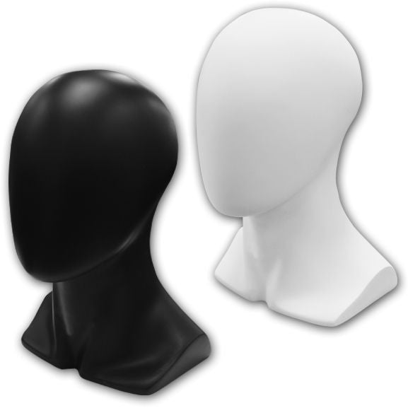 AF-121 Abstract Male Mannequin Head Form - DisplayImporter