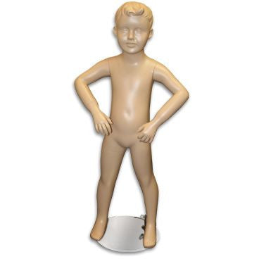 "AF-153 Boy Mannequin with Molded Hair 3' 2"" - DisplayImporter"