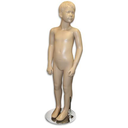 "AF-154 Boy Mannequin with Molded Hair 3' 8"" - DisplayImporter"