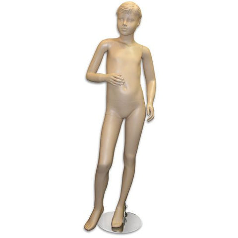 "AF-155 Boy Mannequin with Molded Hair 4' 9"" - DisplayImporter"