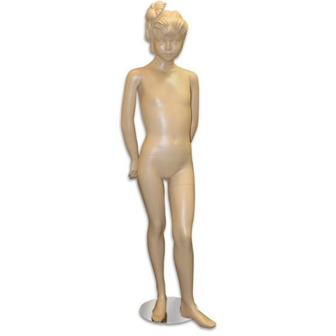 "AF-159 Girl Mannequin with Molded Hair 4' 9"" - DisplayImporter"