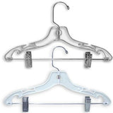 "AF-176 14"" Heavy Weight Suit Hangers - Pack of 100 - DisplayImporter"