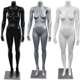 AF-198 Glossy/Matte Female Headless Mannequin - DisplayImporter