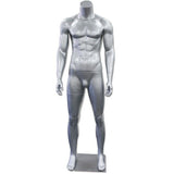 AF-202 Glossy/Matte Male Headless Mannequin - DisplayImporter
