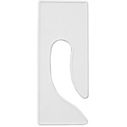 AF-232 White Rectangular King Size Divider - DisplayImporter