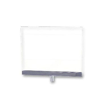 "AF-CPJ57 Lucite Rack Mount Card Frame 5.5"" H x 7"" W - DisplayImporter"