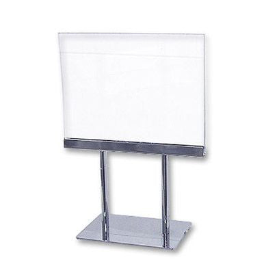 "AF-CPK57 Lucite Counter Card Frame 5.5"" H x 7"" W - DisplayImporter"